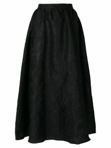 Noon By Noor brocade full ankle-length true waist skirt - Black