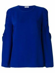 P.A.R.O.S.H. tie sleeve blouse - Blue