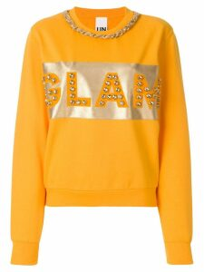 Nil & Mon embellished sweatshirt - Orange