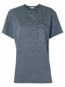 Stella McCartney casual pocket T-shirt - Grey