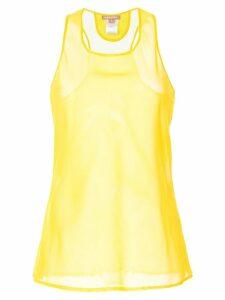 Nehera sheer tank top - Yellow