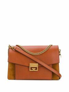 Givenchy foldover chain shoulder bag - Brown