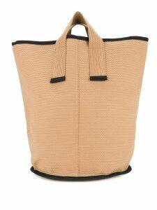 Cabas medium Laundry tote - Brown