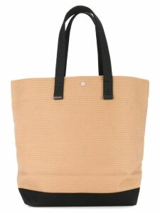 Cabas large shopper tote bag - Brown