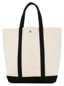Cabas large tote - White