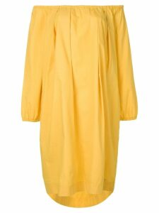 Fendi Pre-Owned off the shoulders dress - Yellow