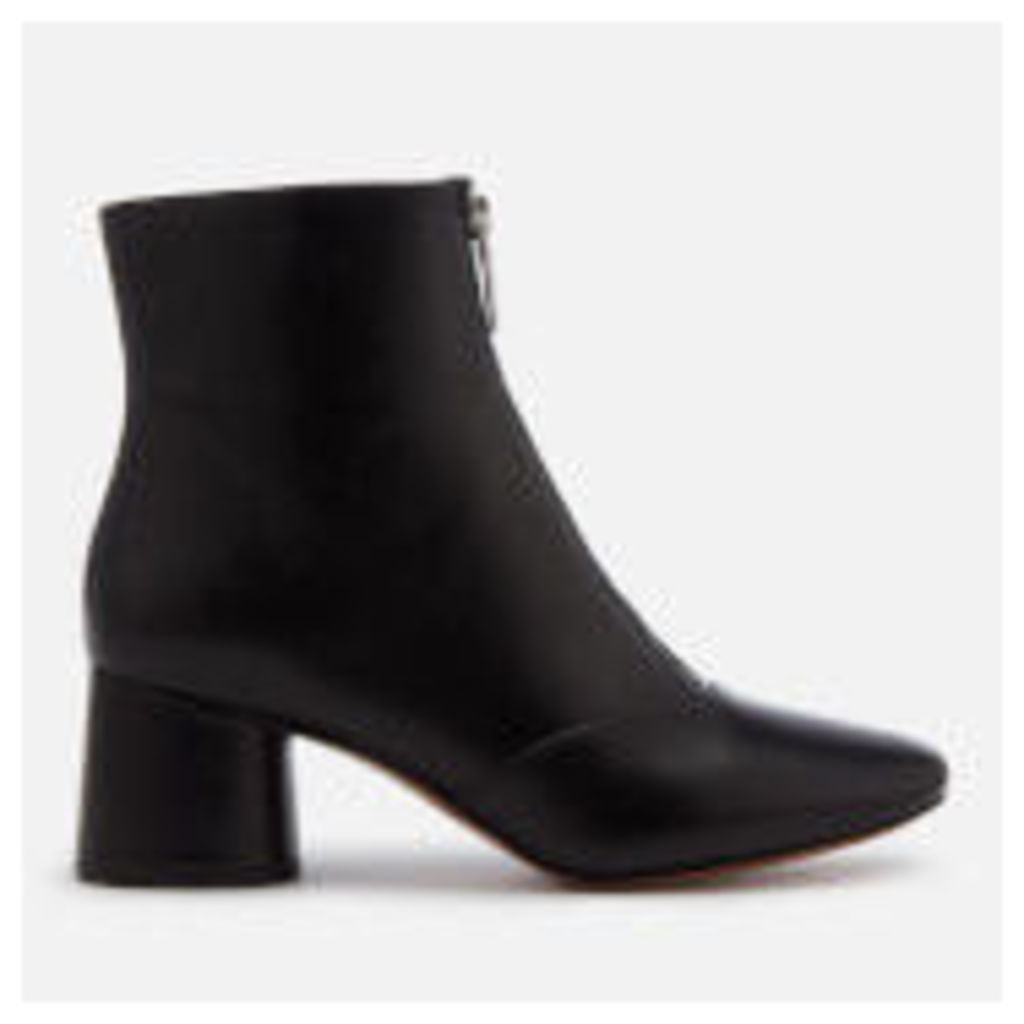 Marc Jacobs Women's Natalie Front Zip Ankle Boots - Black