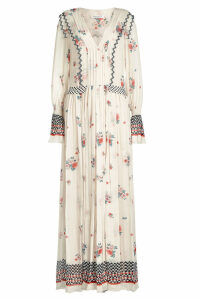 Philosophy di Lorenzo Serafini Printed Chiffon Dress