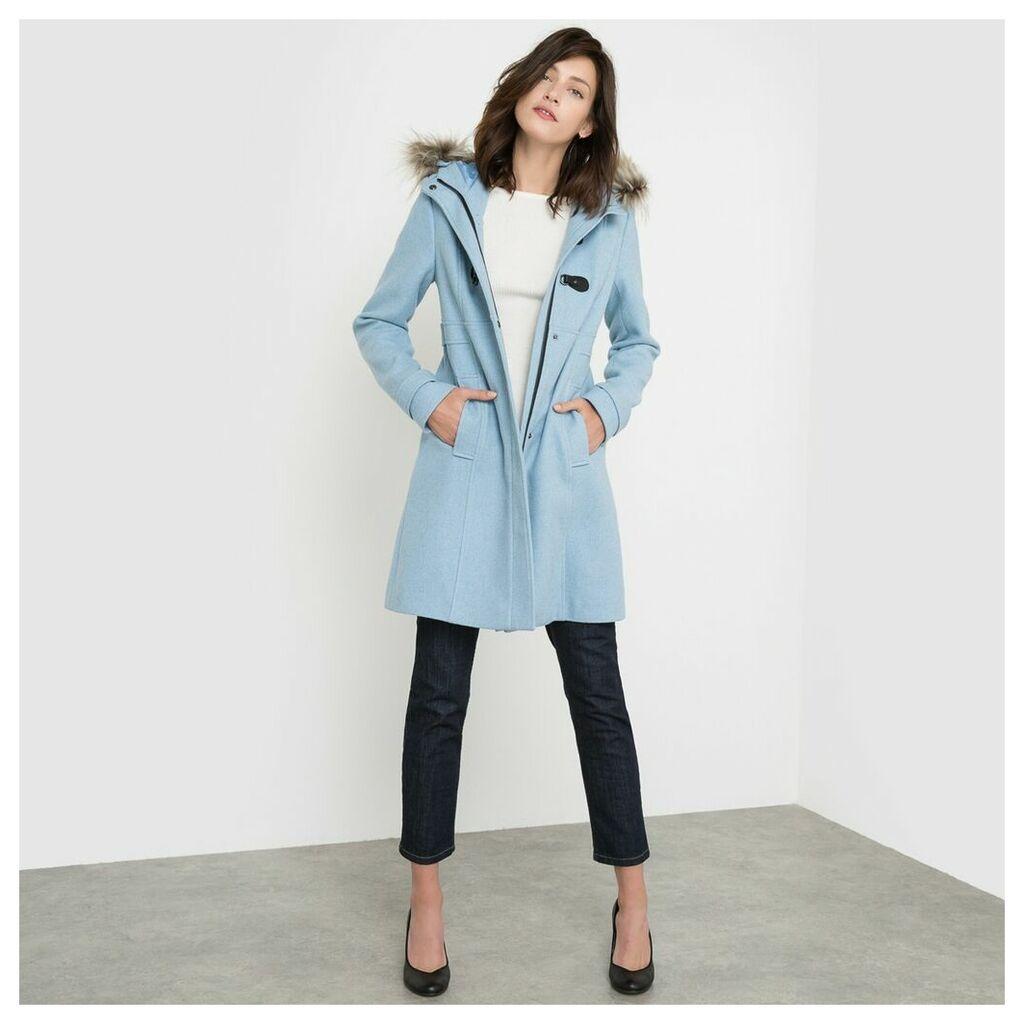 Long Hooded Duffle Coat
