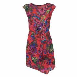 Desigual  SAMARA  women's Dress in Red