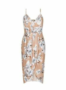 **City Chic Multi Coloured Paper Floral Dress, Others