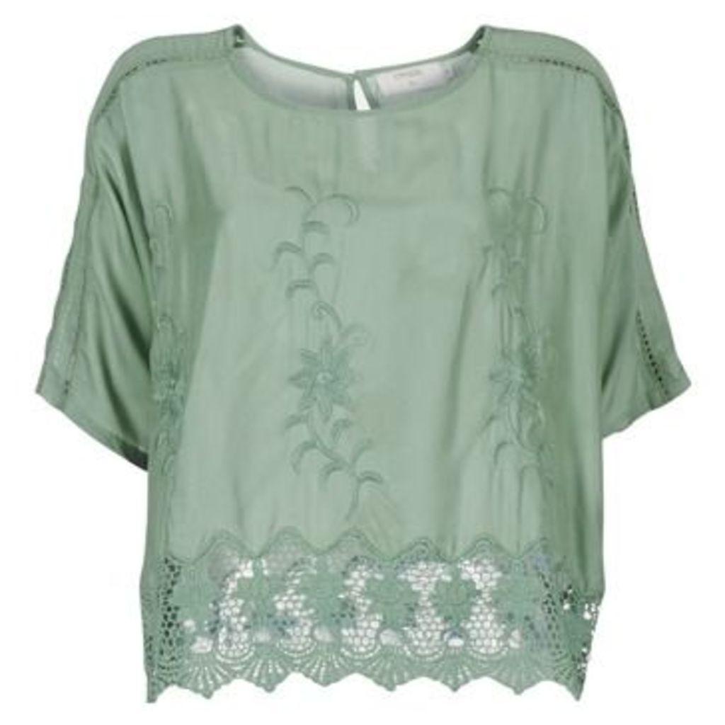 Cream  SOMNOUDE  women's Blouse in Green