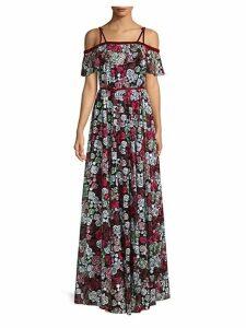 Effie Cold-Shoulder Gown