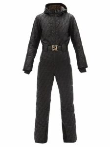 Mansur Gavriel - Circle Gingham Cotton Canvas Cross Body Bag - Womens - Red Multi