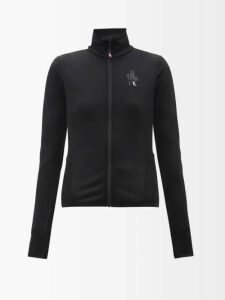 Biyan - River Floral Jacquard Organza Coat - Womens - Blue Multi