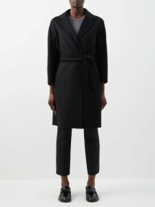 Isa Arfen - Magnolia Print Silk Dress - Womens - Navy Print