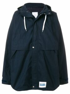 Napa By Martine Rose Adonis hooded parka - Blue