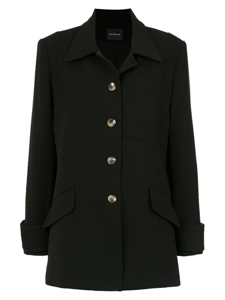 Olympiah Andes coat - Black