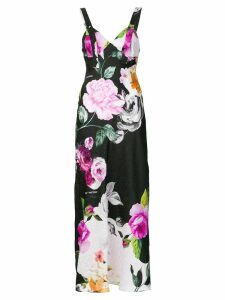 Off-White floral sleep dress - Multicolour