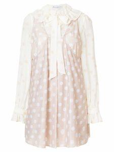 JW Anderson polka-dot dress - Neutrals