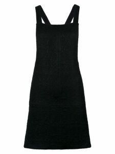 Olympiah Olympiah x Silvia Braz pinafore dress - Black