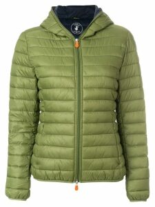 Save The Duck hooded padded jacket - Green