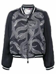 Marcelo Burlon County Of Milan Snakes bomber jacket - Black