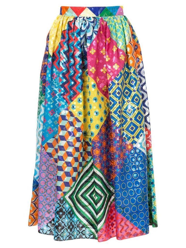 Mary Katrantzou full patchwork skirt - Multicolour