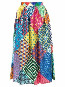 Mary Katrantzou full patchwork skirt - Multicolour