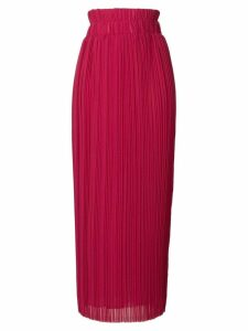 P.A.R.O.S.H. long flared skirt - Pink