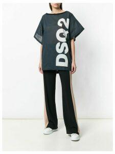 Dsquared2 printed logo T-shirt - Grey