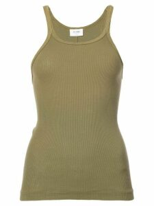Re/Done ribbed tank top - Green
