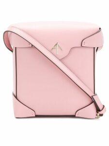 Manu Atelier Pristine crossbody bag - Pink