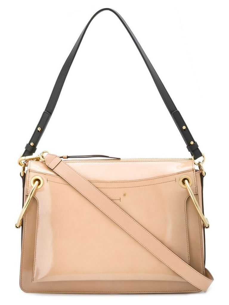 Chloé Roy medium shoulder bag - Neutrals