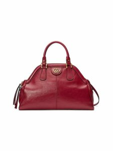 Gucci RE(BELLE) medium top handle tote - Red