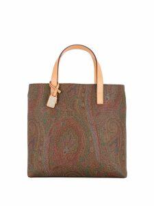 Etro paisley print tote bag - Multicolour