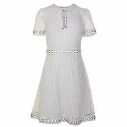 MICHAEL Michael Kors Eyelet Skate Dress