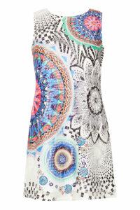 Izabel London Patchwork Print Dress