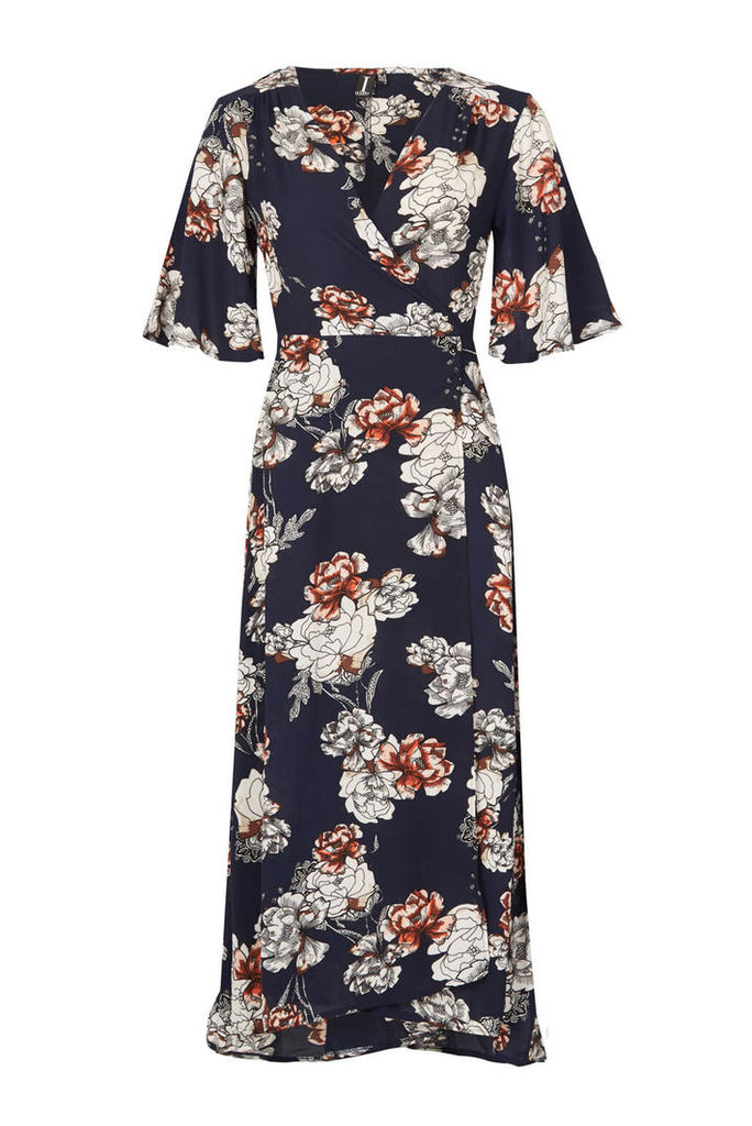 Izabel London Floral Midi Dress
