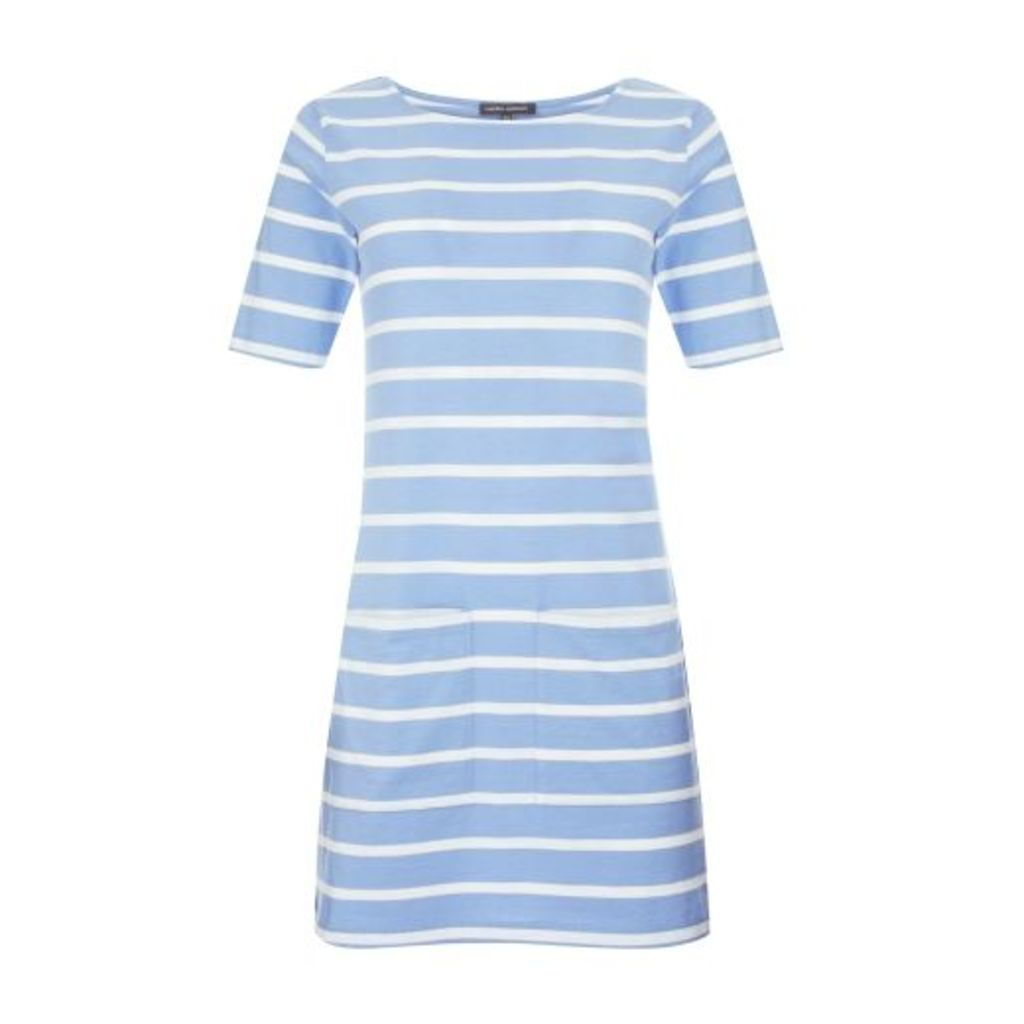Blue Stripe Jersey Tunic