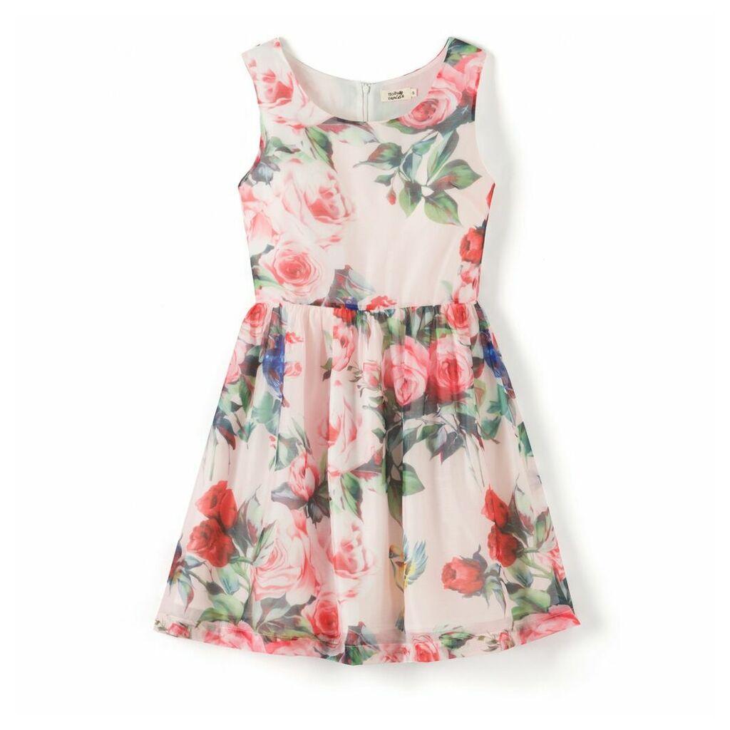 Floral Print Sleeveless Dress