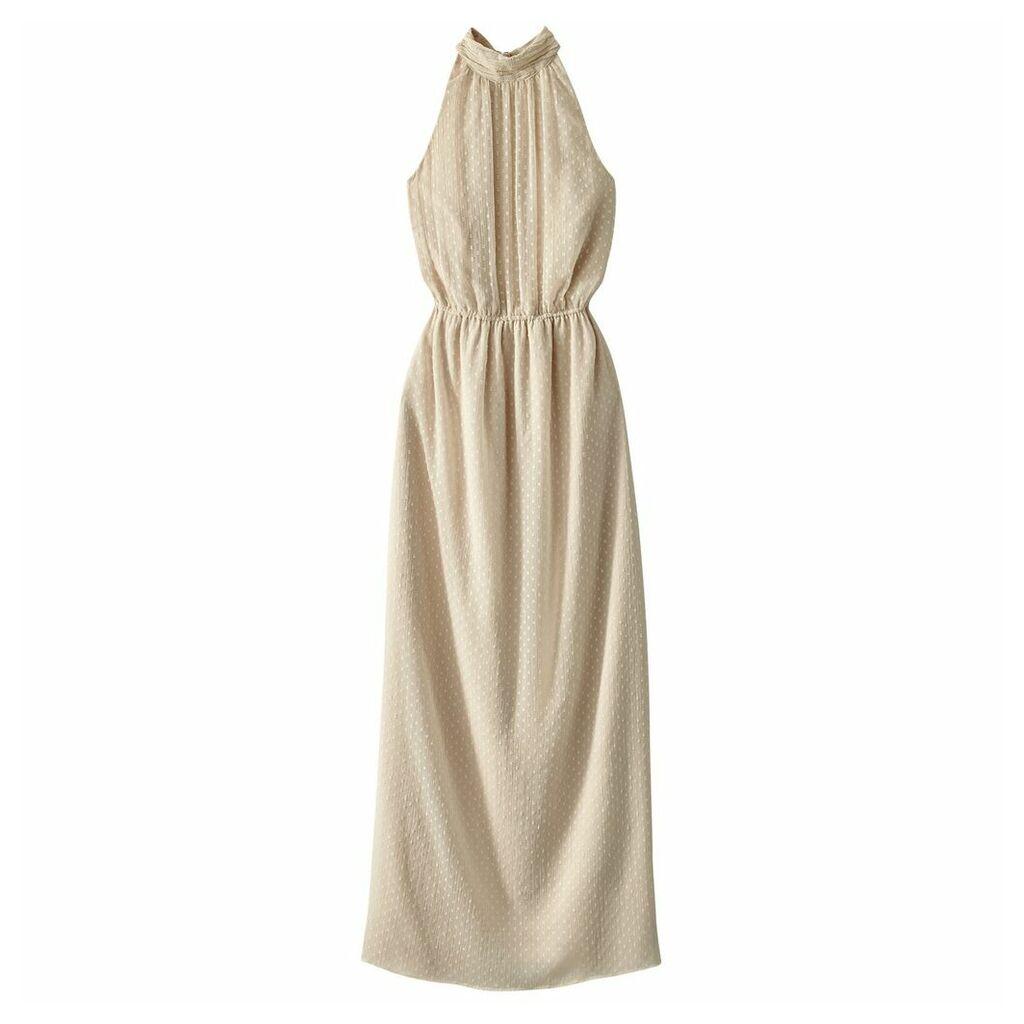 Maxi Dress with Cutaway Shoulders