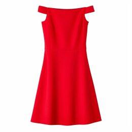 Fitted Bardot Dress