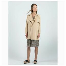 Gabardina Pequi Beige Trench Coat