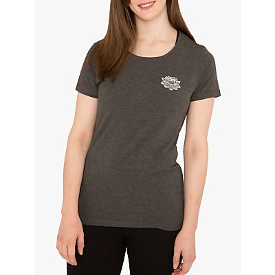 M Life Lotus Print T-Shirt