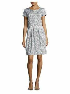 Gina Printed Stretch Dress