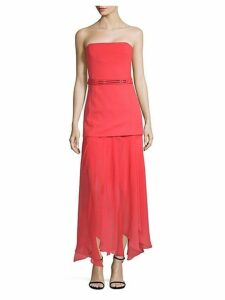 Straight Across Belted Midi Dress