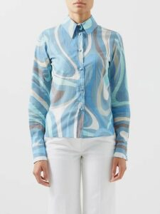 Gucci - Ophidia Suede Top Handle Bag - Womens - Red Multi