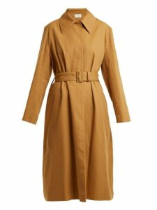The Row - Rundi Panama Linen Trench Coat - Womens - Tan