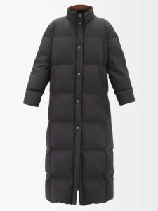 Figue - Caroline Floral Print Silk Wrap Dress - Womens - Black Multi